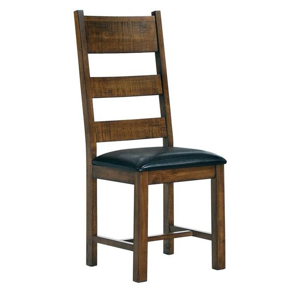 Sumler Solid Wood Dining Chair (Set of 2) by Millwood Pines
