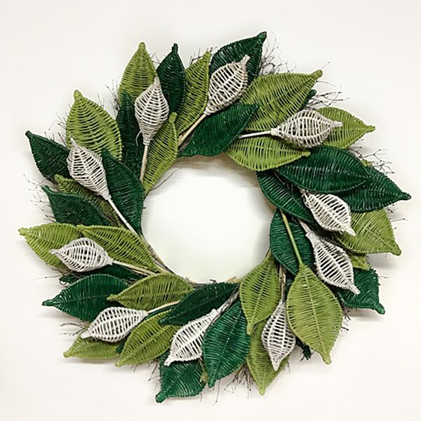 Organic Wicker 22 Wreath by Dried Flowers and Wreaths LLC
