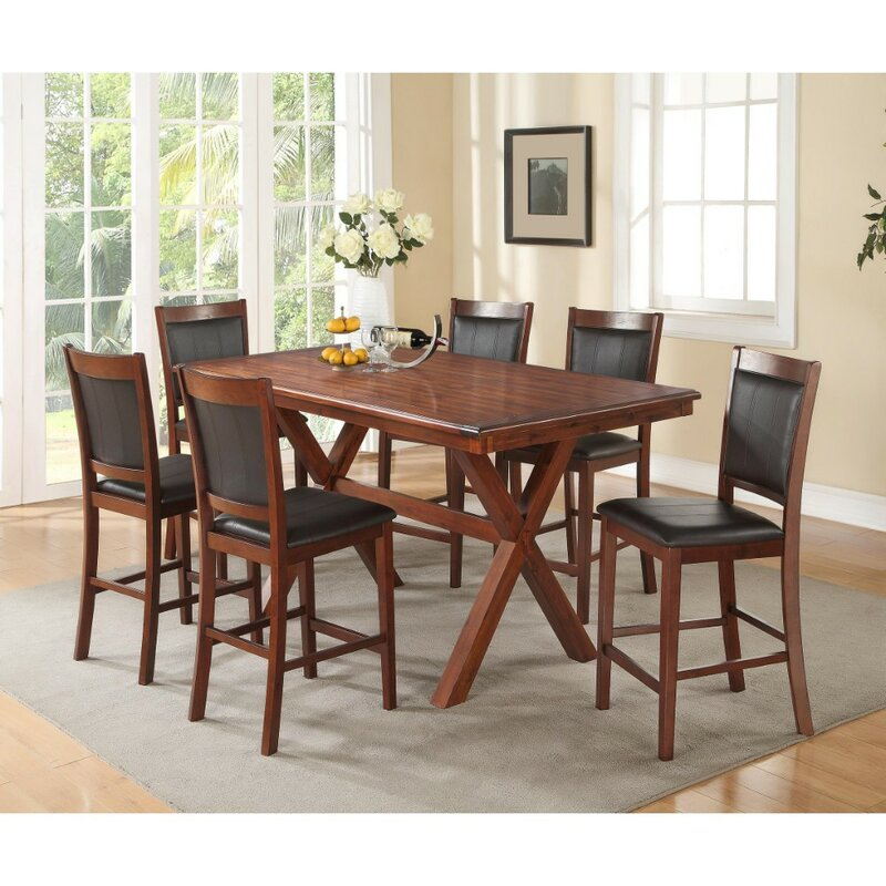 Whitten Acacia Wood Dining Table