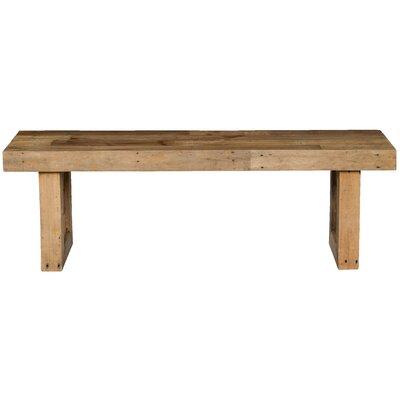 Branson Wood Storage Bench