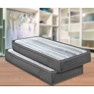 Coupon Underbed Storage (Set of 2) By Rebrilliant