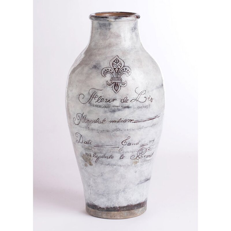 brecon white ceramic grand urn table vase reviews joss. Black Bedroom Furniture Sets. Home Design Ideas