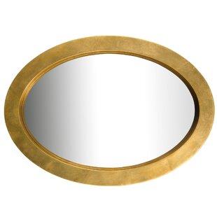 Varaluz Ringleader Thick Frame Oval Wall Mirror