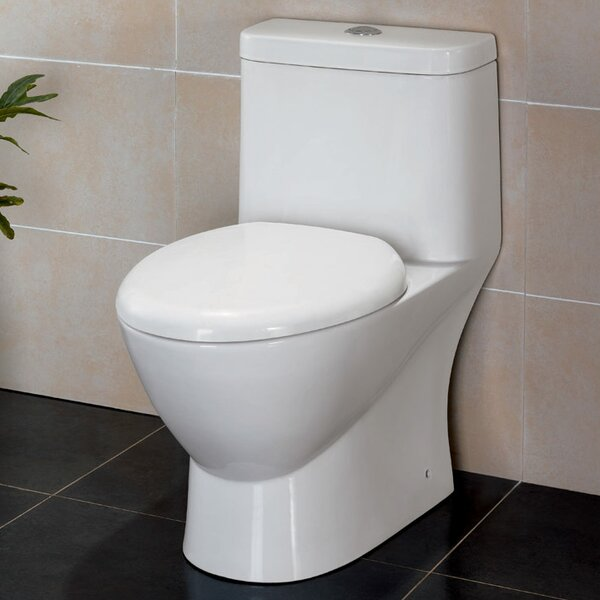 Serena Dual Flush Elongated One-Piece Toilet by Fresca