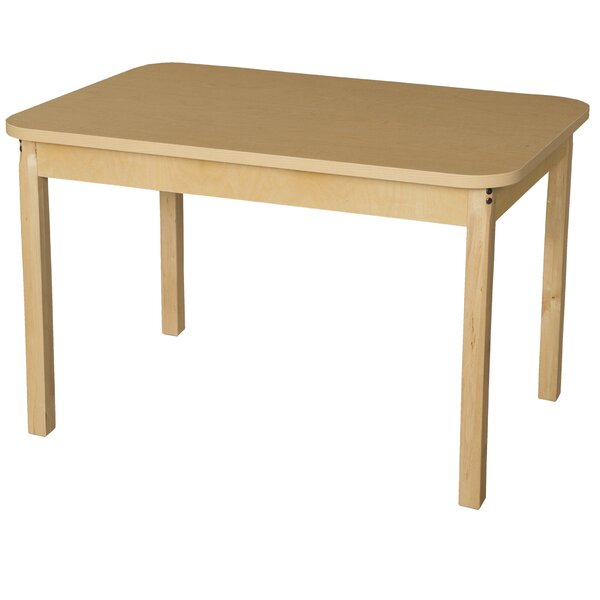 44 x 30 Rectangular Activity Table by Wood Designs