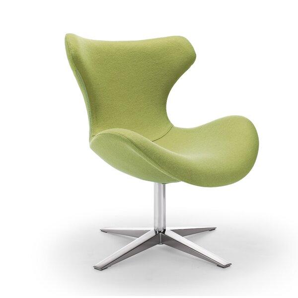 Karin Swivel Lounge Chair By Orren Ellis