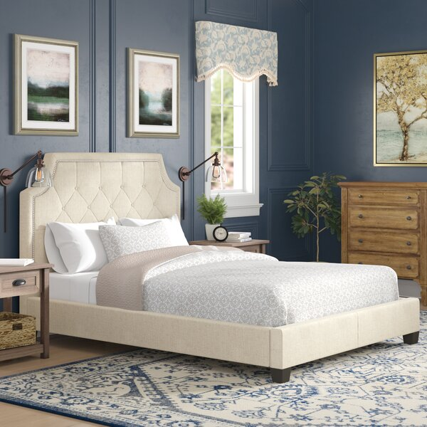 Neher Upholstered Platform Bed by Brayden Studio