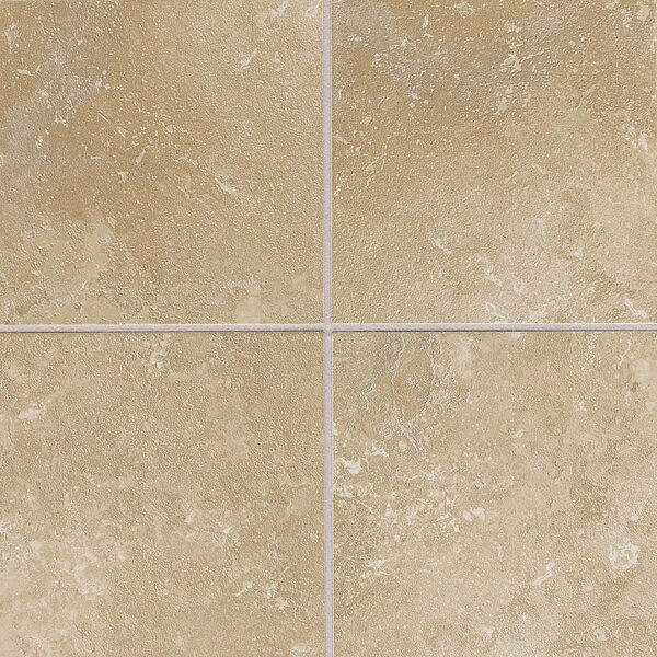 Huston 6 x 6 Ceramic Field Tile in Acacia Beige by Itona Tile