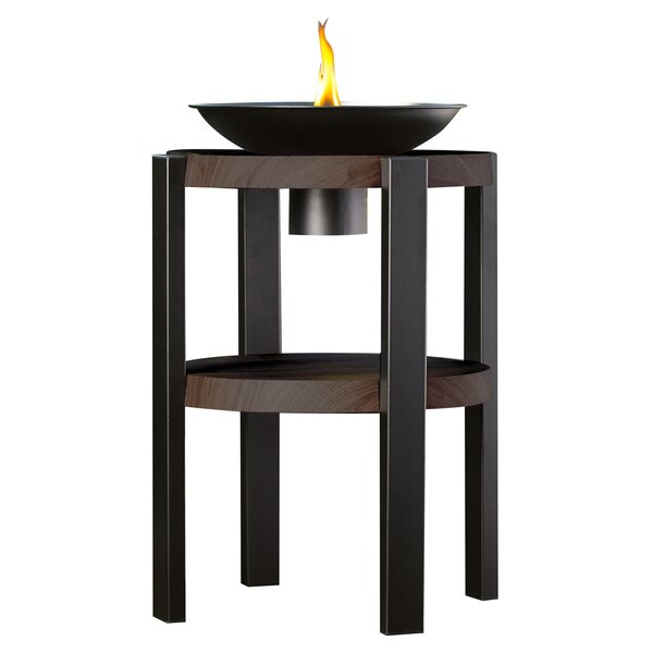 Huntington Metal Faux Wood Garden Torch by TIKI Brand
