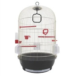 Living World Bird Cage with 3 Perches by Living World by Hagen