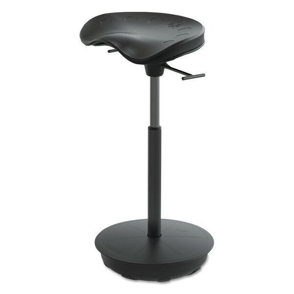 Active Pivot Focal Upright Height Adjustable Seat Stool by Safco Products Company