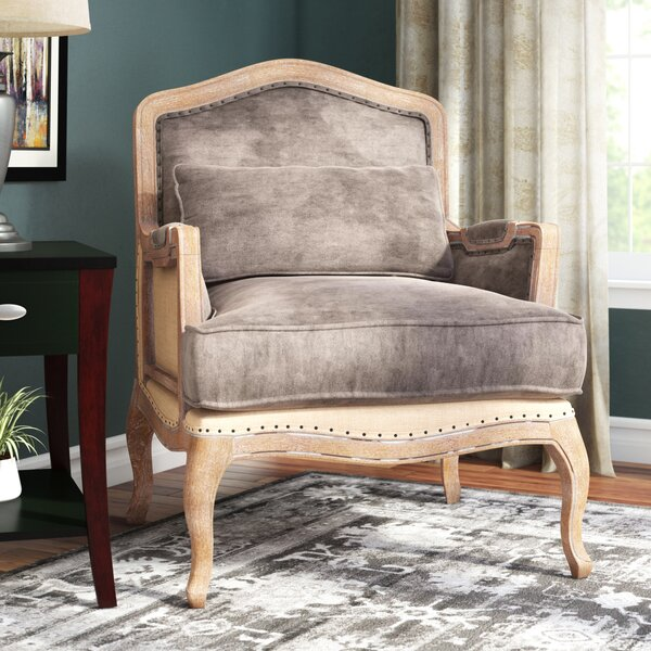 Guillotte 29.1-inch Armchair by One Allium Way One Allium Way