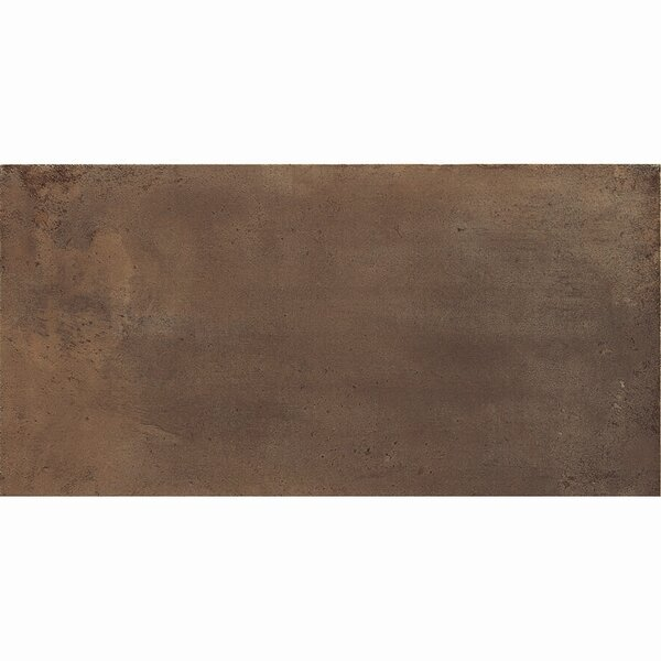 Genesis 12 x 24 Porcelain Field Tile in Moka by Samson