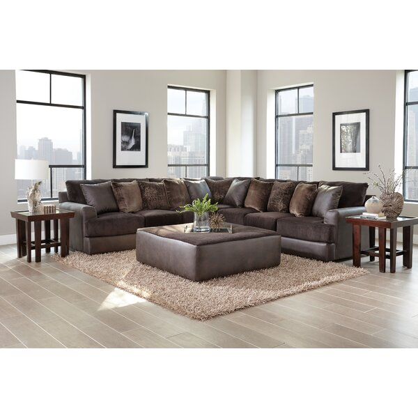 Sydney Reversible Sectional with Ottoman by Latitude Run