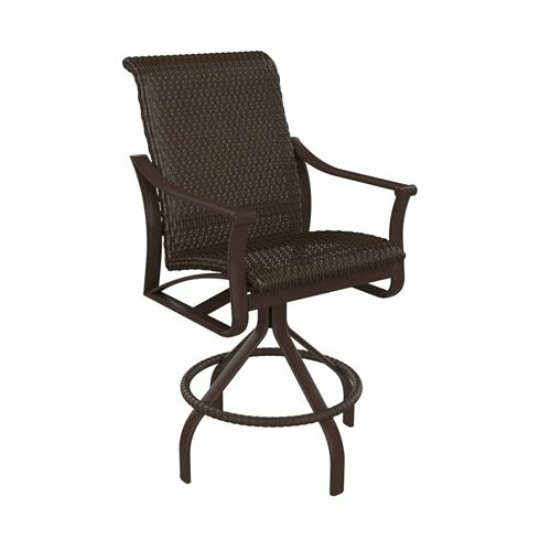 Corsica Swivel 28 Patio Bar Stool by Tropitone