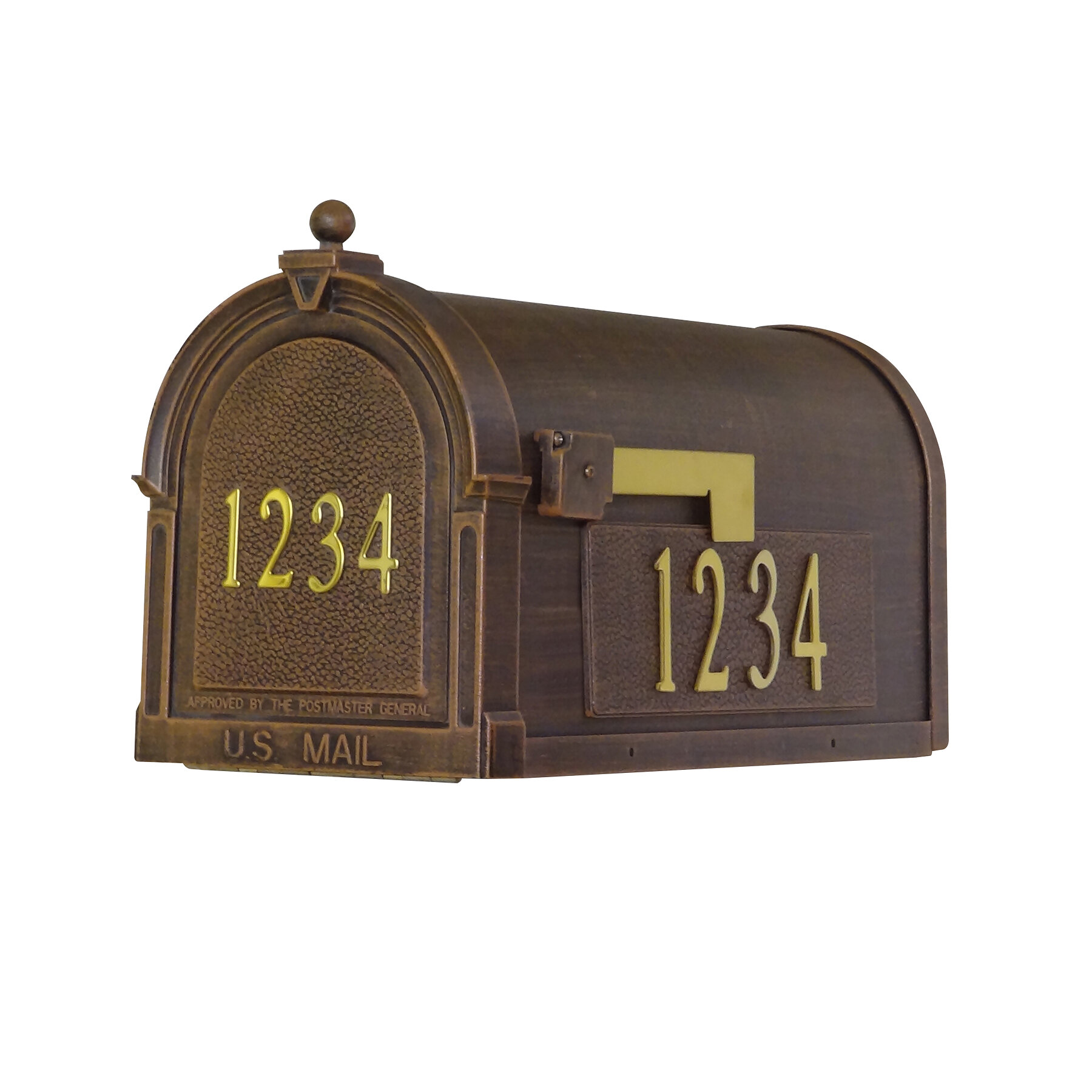 Special Lite Products Berkshire Post Mounted Mailbox Reviews Wayfair