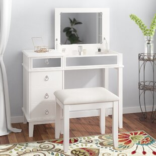 Off White Bedroom Vanity Set Wayfair
