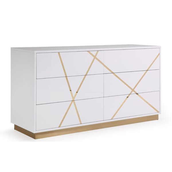 Foti 6 Drawer Dresser by Everly Quinn