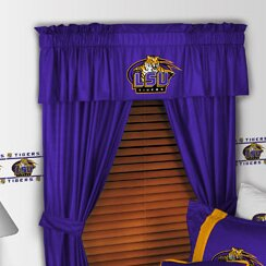 NCAA 88 Louisiana State Tigers Curtain Valance by Sports Coverage Inc.