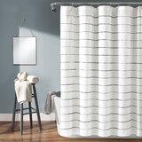 Gutman Striped Single Shower Curtain