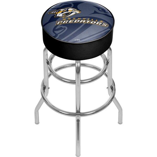 NHL Watermark Swivel Bar Stool by Trademark Global