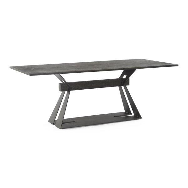 Lidiya Solid Wood Dining Table by Union Rustic