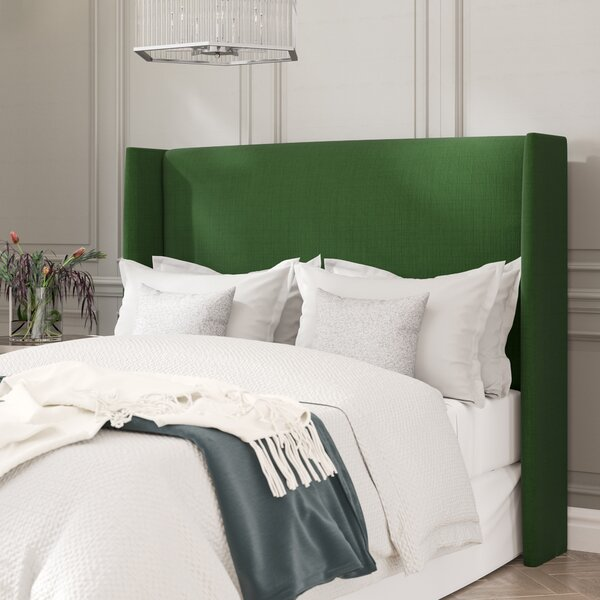 Dion Wingback Headboard by Willa Arlo Interiors