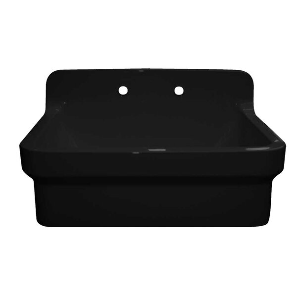 Old Fashioned Country 30 L x 22 W Farmhouse Kitchen Sink by Whitehaus Collection