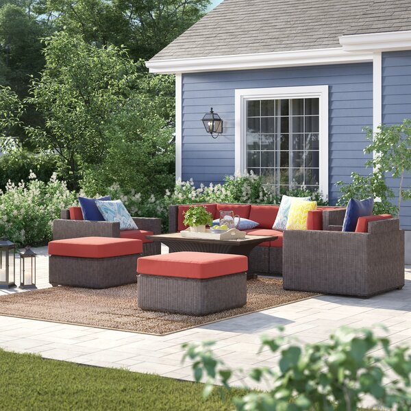 Fairfield 8 Piece Sofa Seating Group with Cushions by Sol 72 Outdoor Sol 72 Outdoor