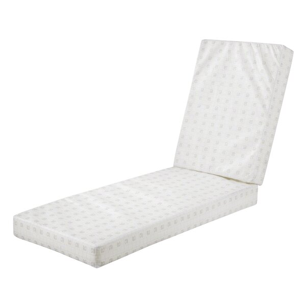 Indoor/Outdoor Chaise Lounge Cushion by Bayou Breeze