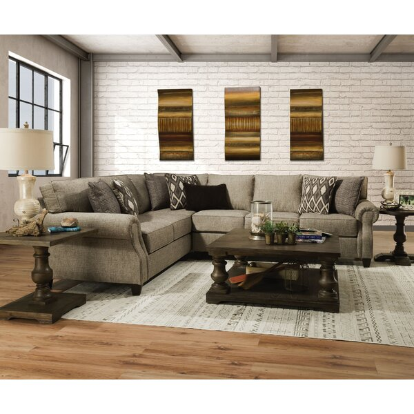 Maysville Left Hand Facing Sectional by Canora Grey Canora Grey