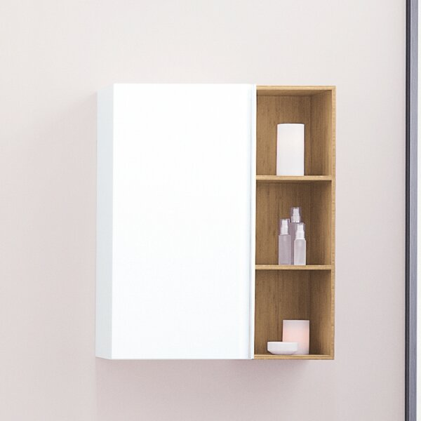 Free 9.06 W x 31.5 H Wall Mounted Cabinet by Ronbow