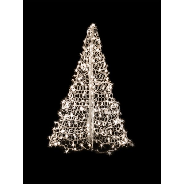 Crab Pot Christmas Tree® with 280 LED Mini Lights by Crab Pot Christmas Trees