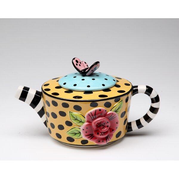 Schiraga 0.38-qt. Teapot by August Grove