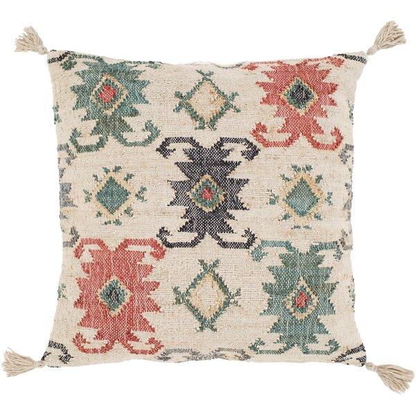 Lenora Handmade Throw Pillow by Surya