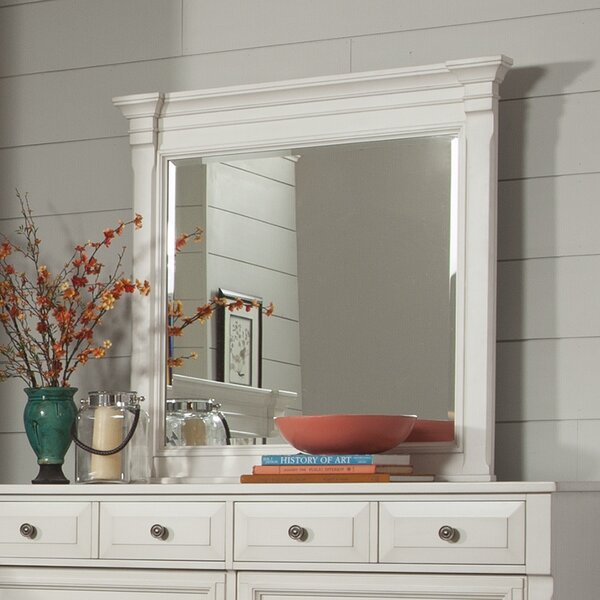 Randolph Square Dresser Mirror by Beachcrest Home