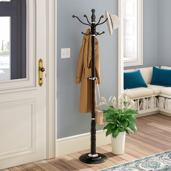 Metal Stand Coat Rack by Charlton Home