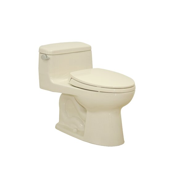 Supreme 1.6 GPF Elongated One-Piece Toilet by Toto