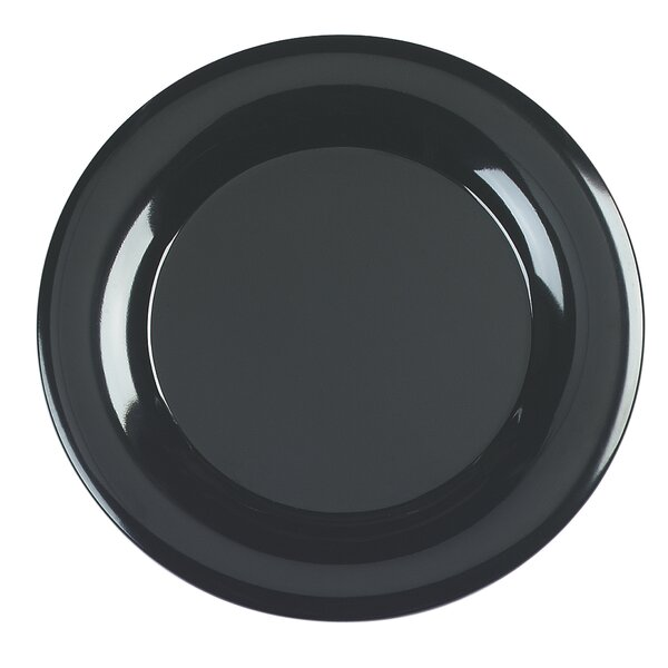 Melamine Wide Rim Round Platter (Set of 4) by Carlisle Food Service Products
