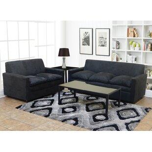 Bahand Nationwide 3 Piece Standard Living Room Set by Latitude Run®