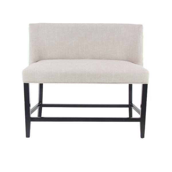 Beecham Eclectic Rectangular Upholstered Bench by Canora Grey Canora Grey