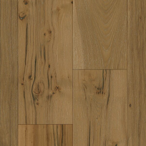 7-1/2 Engineered Hickory Hardwood Flooring in Limed Coastal Plain by Armstrong Flooring