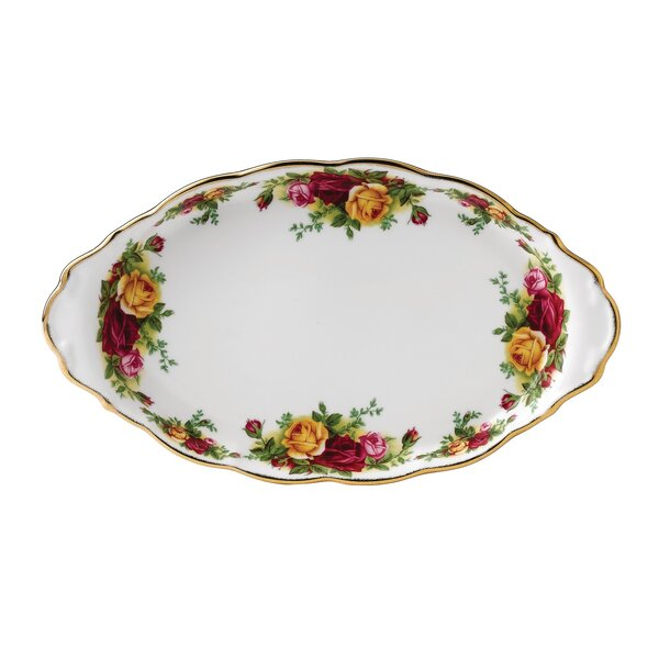 Old Country Roses Sugar and Cream Regal Platter by Royal Albert