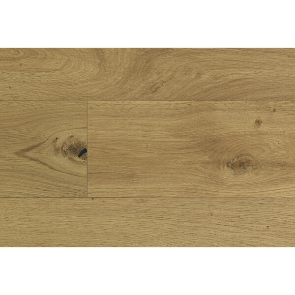 William 7-1/2 Engineered Oak Hardwood Flooring in Tan by Majesta