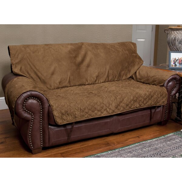 Commons Box Cushion loveseat Slipcover by Red Barrel Studio