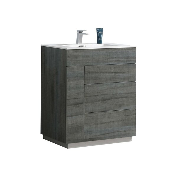 Ebling 29.8 Single Bathroom Vanity Set by Ivy Bron