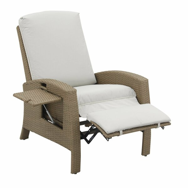 Crestline Patio Chair with Cushion by Bay Isle Hom