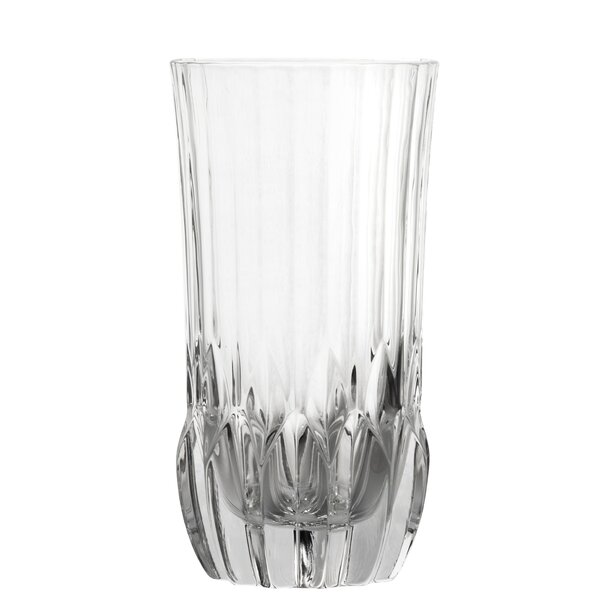 Elder 12 oz. Crystal Highball Glass (Set of 6) by House of Hampton