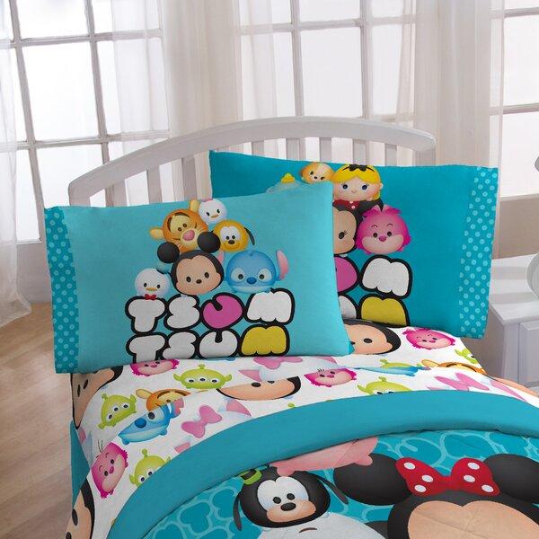 Tsum Tsum Mashup 4 Piece Sheet Set by Disney