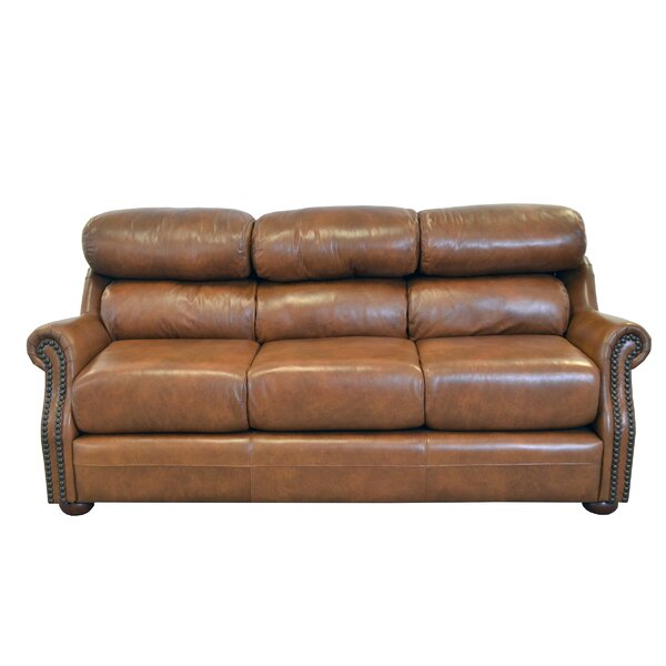 Beacon Leather Sofa by Westland and Birch